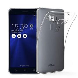 Transparentní silikonové pouzdro Asus Zenfone 3 ZE520KL
