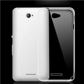 Transparentní silikonové pouzdro Sony Xperia E4